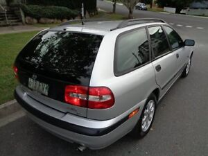 2000 Volvo V40 MY01 T4 SE Silver Metallic 5 Speed Automatic Wagon Chermside Brisbane North East Preview
