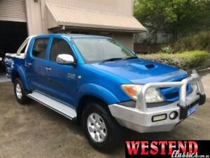 2006 Toyota Hilux KUN26R 06 Upgrade SR5 (4x4) Blue 4 Speed Automatic Dual Cab Pick-up Lisarow Gosford Area Preview