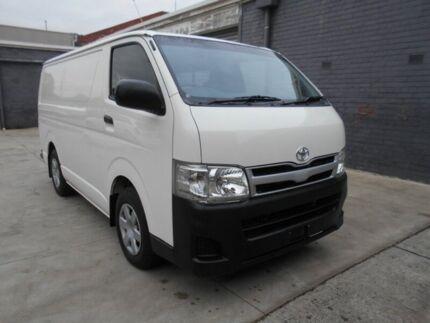 2013 Toyota Hiace KDH201R MY12 Up LWB White 4 Speed Automatic Van