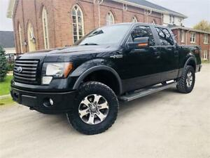 2012 Ford F-150 FX4 -LEATHER + BIG TIRES + NO ACCIDENTS! $22,777