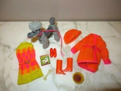 Vintage Barbie Doll Sears Exclusive Jamie Gift Set Outfit Dog