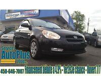 2009 Hyundai Accent Auto GL w/Sport Pkg Sunroof - A/C - Propre