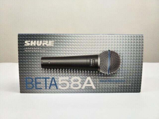 New SH BETA 58A Supercardioid Dynamic Microphone With High Output Neodymium