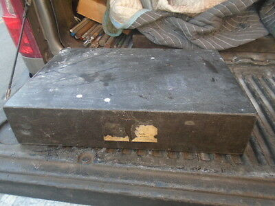 Machinist Tools Lathe Mill Machinist 12 By 18 By 4 Granite Surface Plate