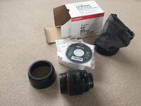 Canon EF 85mm f/ 1.2 L II USM Lens - Beautiful portrait lens in mint condition