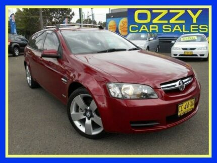 2009 Holden Commodore VE MY10 International Sportwagon Burgundy 6 Speed Sports Automatic Wagon Penrith Penrith Area Preview