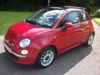 FIAT 500 1.2 C LOUNGE 3d 69 BHP (red) 2009