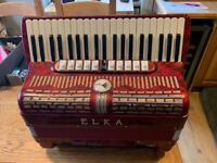 S/Hand Elka 120 Bass Accordion