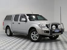 2013 Nissan Navara D40 MY12 ST (4x4) Silver 5 Speed Automatic Dual Cab Pick-up Atwell Cockburn Area Preview