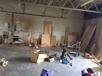 Storage space 50SQM available in industrial unit
