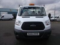 Ford Transit T350 MWB TIPPER TDCI 125PS S/CAB DIESEL MANUAL WHITE (2014)