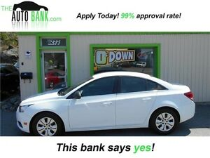 2012 Chevrolet Cruze LS| BAD CREDIT APPROVED!