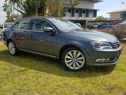 2012 Volkswagen Passat Type 3C MY13 118TSI DSG Grey 7 Speed Sports Automatic Dual Clutch Sedan