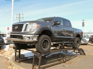 2017 Nissan Titan SV, FULL LIFT, UPGRADED WHEELS AND TIRES, FEND