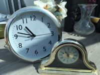 2 Battery operated Clocks