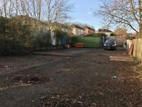 Yard For Rent with containers (40ft x 110ft) - Hartcliffe