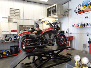 MOTORCYCLE SAFETY CHECKS WHILE YOU WAIT $69.95 !