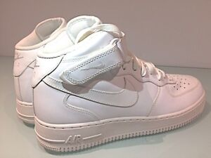 New Nike Air Force 1 shoes / sneakers- All White - Mens Size 13
