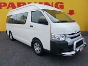 2014 Toyota Hiace KDH223R MY14 Commuter High Roof Super LWB White 4 Speed Automatic Bus Winnellie Darwin City Preview