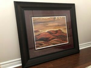 """North Shore, Lake Superior"" A.Y. Jackson, Group of Seven Print"