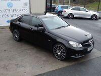 MERCEDES-BENZ C CLASS C220 CDI BLUEEFFICIENCY SE 4d AUTO 168 BHP (FINANC (black) 2012