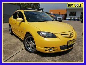 2004 Mazda 3 BK1031 SP23 Yellow 4 Speed Sports Automatic Sedan