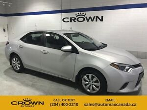 2016 Toyota Corolla LE  *Bluetooth/ Backup Camera/ Accident Free