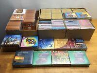 Lot de 260 CD de musique en tout genre neufs à vendre