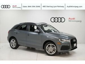 2018 Audi Q3 Komfort w/Navigation/Power Tailgate *LOCAL TRADE*