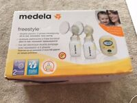 Medal Freestyle double breast pump