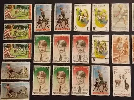 1960's Children Scene Stamp Collection Armidale City Preview
