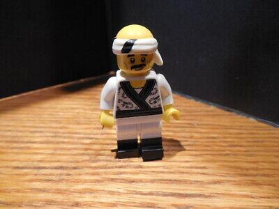 Lego Ninjago Movie Sushi Chef Minifigure Minifig