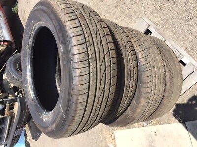 4 New 255 60 18 Falken ZIEX ZE-912 255/60R18 112V Tires
