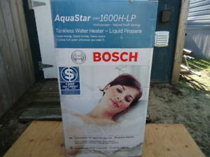 Bosch Tankless Water Heater LP