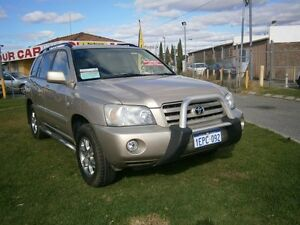 2003 Toyota Kluger 7 SEATER CVX V6 SUV Gold Automatic Wagon Maddington Gosnells Area Preview
