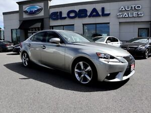 2015 Lexus IS 350 AWD EXECUTIVE PKG. ONLY 26 K  LEATHER NAVIGATI