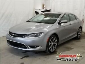 Chrysler 200 C V6 GPS Alpine Cuir Toit Panoramique MAGS 2016