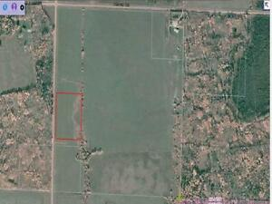 10.35 FENCED ACRES,  DRILLED WELL, POWER & SEPTIC IS INSTALLED!