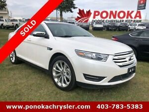 2018 Ford Taurus Limited AWD Leather/Sunroof/Navigation
