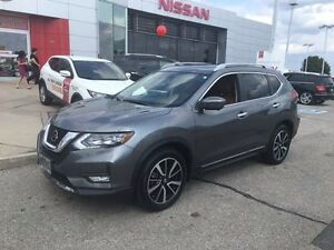 2017 Nissan Rogue SL Platinum 4dr All-wheel Drive