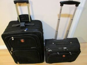 Swiss Army Gear Suitcase Set - two suitcases