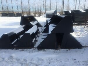 SNOW IS HERE! 8ft Snow Buckets for Skid Steers! Heavy Duty SALE!