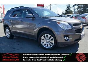 2011 Chevrolet Equinox 1LT, Bluetooth, Power Seat, One Owner !!