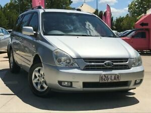 2008 Kia Carnival VQ MY08 EXE Silver 4 Speed Sports Automatic Wagon South Toowoomba Toowoomba City Preview