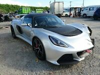LOTUS EXIGE 2016 UNRECORDED DAMAGE REPAIRABLE SALVAGE