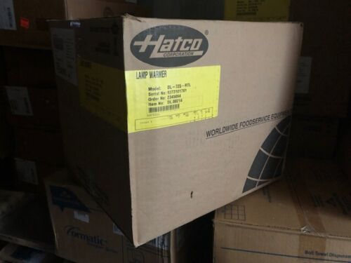 Hatco DL-725-RTL Black Designer Food Lamp Warmer Adjustable Cord Track Adapter