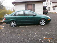 2000 Ford Focus SE Sedan