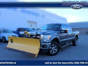 2011 Ford F-250 LARIAT LEATHER HTD SEATS PLOW INCLUDED IN PRICE!