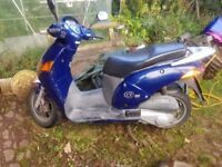 Honda NES 125CC. Lovely ride.