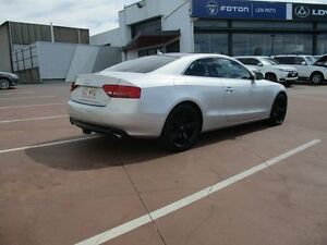 2010 Audi A5 8T MY10 Quattro Silver 6 Speed Sports Automatic Coupe Toowoomba Toowoomba City Preview
